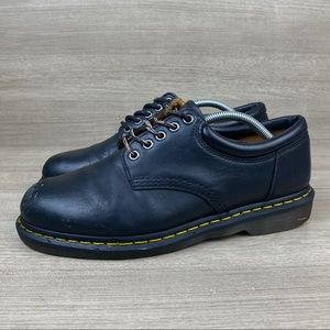 Dr. Doc Martens Air Cushion Black Leather 8053